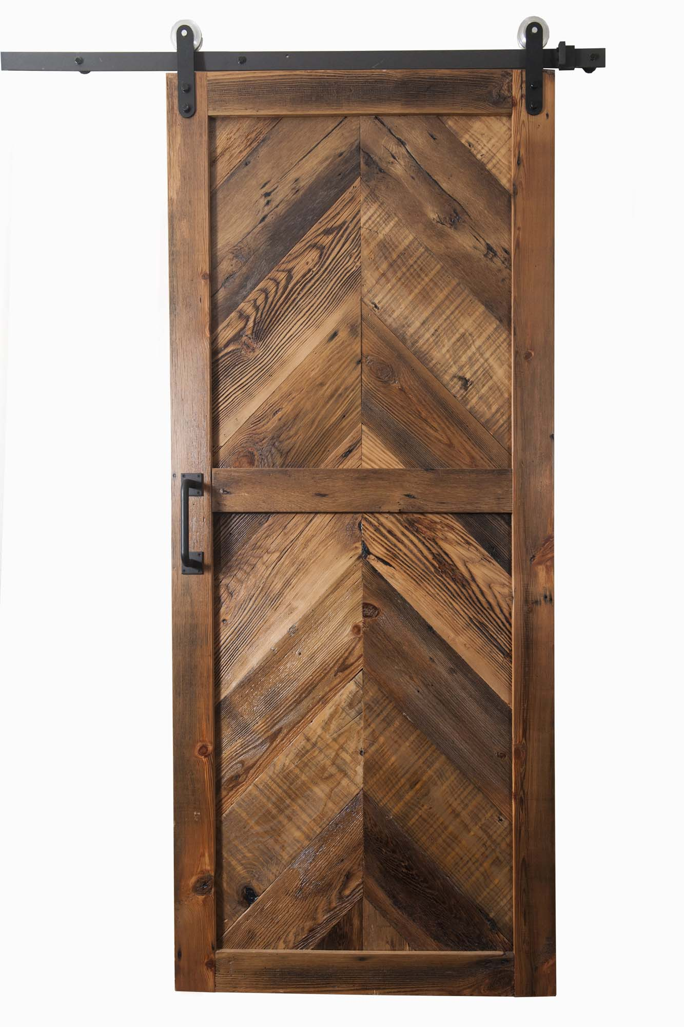 The Chevron Barn Door Buffalo Barn Doors